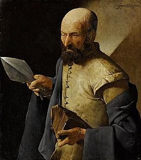 Georges de La Tour, Saint Thomas - GRANDS PEINTRES / De la Tour