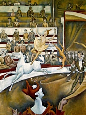 Georges Seurat, Le cirque - GRANDS PEINTRES / Seurat