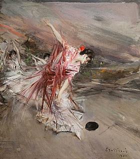 Giovanni Boldini, La danseuse espagnole - GRANDS PEINTRES / Boldini