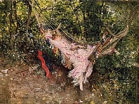 Giovanni Boldini, Le hamac - GRANDS PEINTRES / Boldini