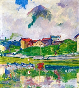 Giovanni Giacometti, Maloja - GRANDS PEINTRES / Giacometti