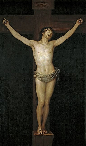 Francisco de Goya, Christ crucifié - GRANDS PEINTRES / Goya
