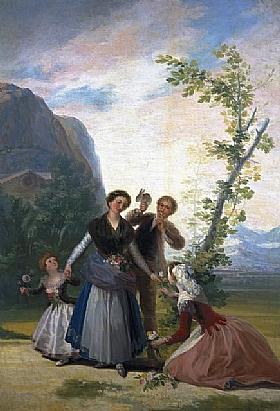 Francisco de Goya, Eté - GRANDS PEINTRES / Goya