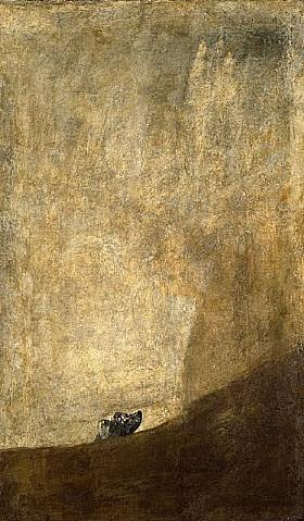 Francisco de Goya, Le chien - GRANDS PEINTRES / Goya
