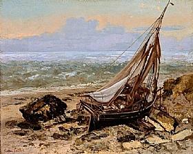 Gustave Courbet, Bateaux de pêche - GRANDS PEINTRES / Courbet