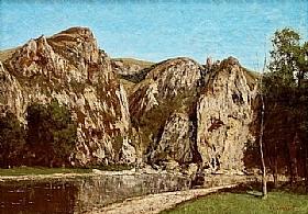 Gustave Courbet, La Meuse à Freyr - GRANDS PEINTRES / Courbet