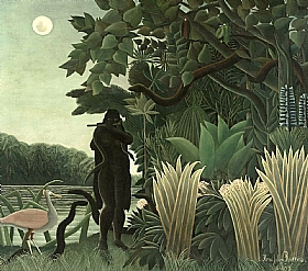 Henri Rousseau, La charmeuse de serpents - GRANDS PEINTRES / Rousseau