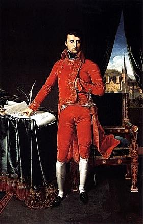Jean-Auguste Ingres, Bonaparte premier consul - GRANDS PEINTRES / Ingres