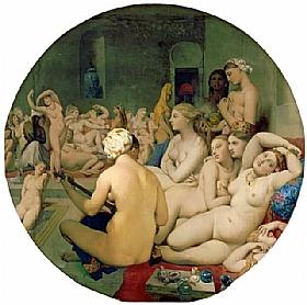 Jean-Auguste Ingres, Le bain turc - GRANDS PEINTRES / Ingres