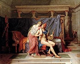 Jacques-Louis David, Les amours de Paris et Hélène - GRANDS PEINTRES / David