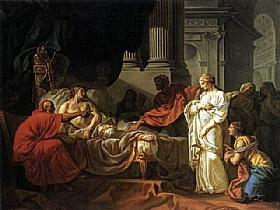 Jacques-Louis David, Érasistrate et la maladie d'Antiochius - GRANDS PEINTRES / David