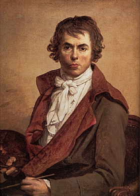 Jacques-Louis David, Autoportrait - GRANDS PEINTRES / David