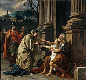 Jacques-Louis David, Belisaire recevant l'aumône - GRANDS PEINTRES / David