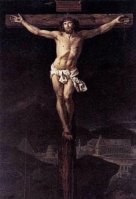 Jacques-Louis David, Le Christ sur la croix - GRANDS PEINTRES / David