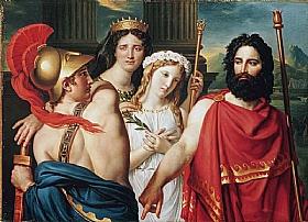 Jacques-Louis David, La colère d'Achille - GRANDS PEINTRES / David