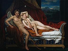 Jacques-Louis David, Cupidon et Psyché - GRANDS PEINTRES / David