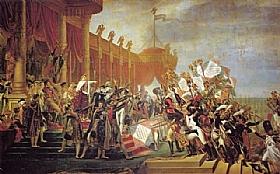 Jacques-Louis David, La distribution des Aigles - GRANDS PEINTRES / David