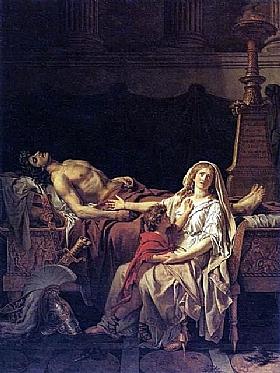 Jacques-Louis David, La douleur d'Andromaque - GRANDS PEINTRES / David