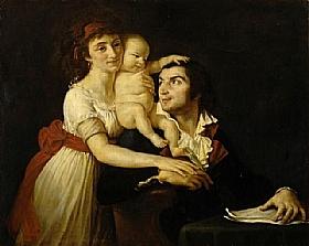 Jacques-Louis David, Camille Desmoulins en famille - GRANDS PEINTRES / David