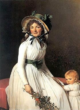 Jacques-Louis David, Madame Seriziat - GRANDS PEINTRES / David