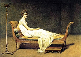 Jacques-Louis David, Madame Récamier - GRANDS PEINTRES / David
