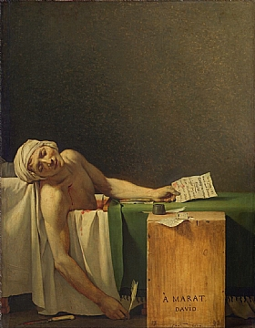 Jacques-Louis David, Marat Assassiné - GRANDS PEINTRES / David