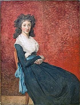 Jacques-Louis David, Marie-Louise Trudaine - GRANDS PEINTRES / David