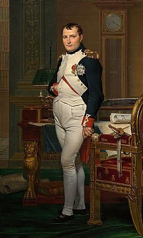 Jacques-Louis David, Napoléon au Tuileries - GRANDS PEINTRES / David
