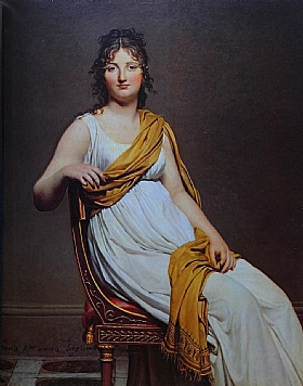 Jacques-Louis David, Madame de Verniac - GRANDS PEINTRES / David