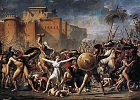 Jacques-Louis David, Les Sabines - GRANDS PEINTRES / David