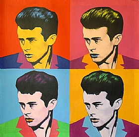 Composition et Etudes, James DEAN - GRANDS FORMATS / 80cm x 80cm