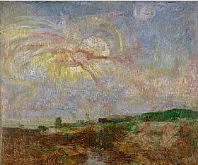 James Ensor, Adam et Eve expulsés du Paradis - GRANDS PEINTRES / Ensor