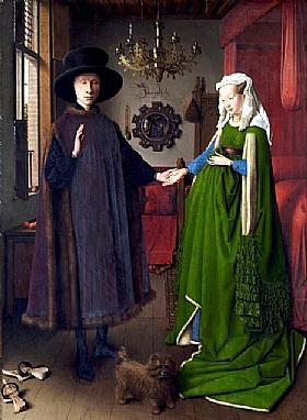 Jan Van Eyck, Le mariage Anorlfini - GRANDS PEINTRES / Van Eyck