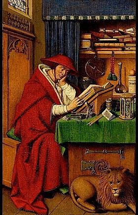 Jan Van Eyck, Saint Jérôme dans son étude - GRANDS PEINTRES / Van Eyck