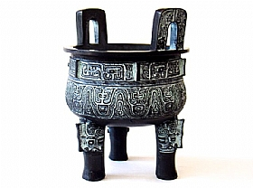 jarre en bronze, Tripode da ke ding - SCULPTURES / Bronzes