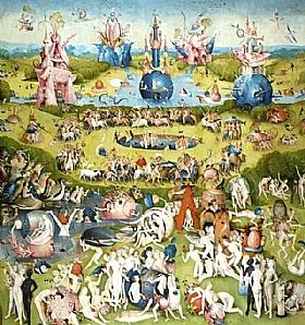 Jérôme Bosch, Le jardin des délices (Centre) - GRANDS PEINTRES / Bosch