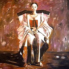 Expériences de vie, La jeune mariée - GRANDS FORMATS / 80cm x 80cm