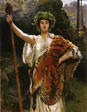 John Collier, La prêtresse de Bacchus - GRANDS PEINTRES / Collier