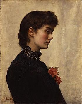 John Collier, Madame Marion Collier Huxley - GRANDS PEINTRES / Collier