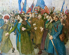 Jules Adler, Armistice 1918 - GRANDS PEINTRES / Adler
