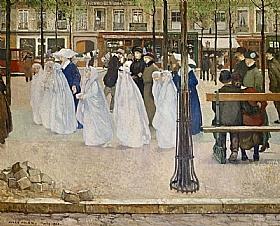 Jules Adler, Les communiantes - GRANDS PEINTRES / Adler