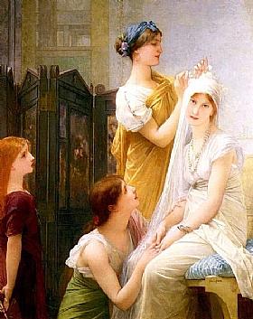 Jules Joseph Lefebvre, la fiancée - GRANDS PEINTRES / Lefebvre