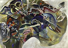 Vassily Kandinsky, Bordure Blanche - GRANDS PEINTRES / Kandinsky