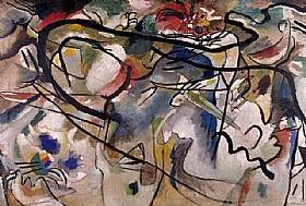 Vassily Kandinsky, Composition 5 - GRANDS PEINTRES / Kandinsky