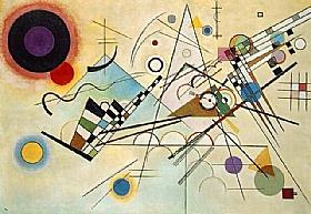 Vassily Kandinsky, Composition 8 - GRANDS PEINTRES / Kandinsky