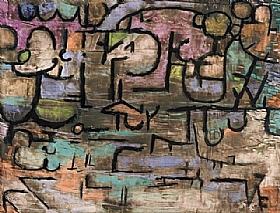 Paul Klee, Après l'inondation - GRANDS PEINTRES / Klee