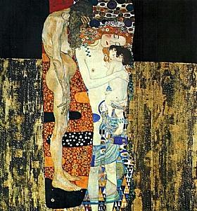 Gustav Klimt, Les trois age d'une femme - GRANDS PEINTRES / Klimt