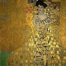 Gustav Klimt, Adele Bloch Bauer - GRANDS PEINTRES / Klimt