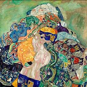 Gustav Klimt, Le bébé - GRANDS PEINTRES / Klimt