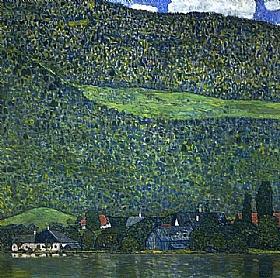 Gustav Klimt, La rivière - GRANDS PEINTRES / Klimt